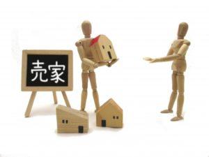 観葉植物と住宅模型