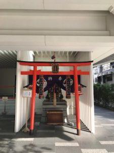 東銀座駅地上