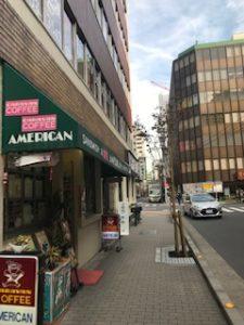 歌舞伎座側道アメリカン