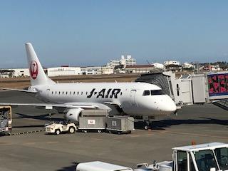 福岡ー宮崎飛行機