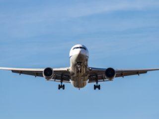 飛行機着陸