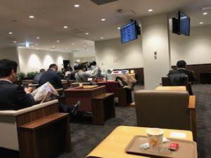 190124福岡空港カードラウンジ8