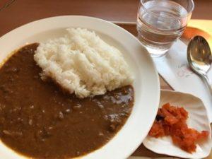 20190217宮崎空港カフェカンナガンジスカレー