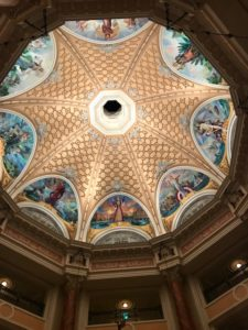 ミラコスタ3ロビー天井