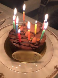 ミラコスタバースデーケーキ