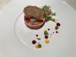 ミラコスタオチェーアノコース料理2