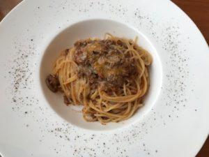 イーストサイドカフェご飯ボロネーゼ