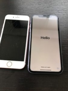 iPhone11クイックスタート2