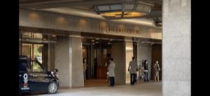 帝国ホテルエントランス