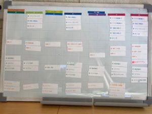 sapix学習スケジュールマグネットボード1