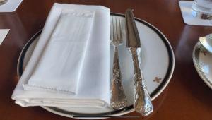 帝国アフタヌーンティーテーブルセット