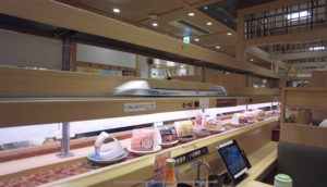 美登利寿司-レーン