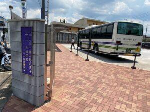 明八スクールバス乗り場2